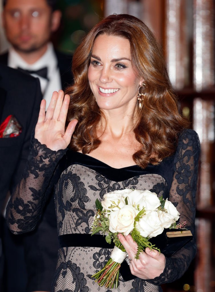 Catherine, Duchess of Cambridge attends the Royal Variety Performance at the Palladium Theatre. | Photo: Getty Images