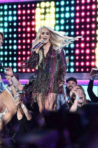 Carrie Underwood performs onstage during the 54th Academy Of Country Music Awards | Photo: Getty Images
