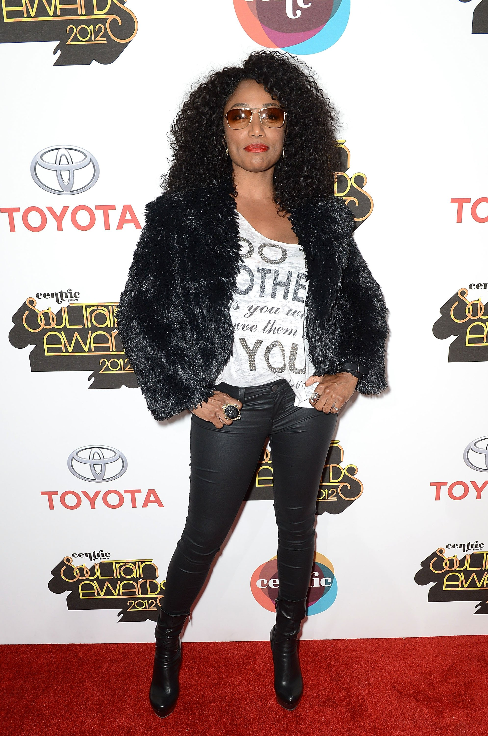 Karyn White arrives at the Soul Train Awards 2012 at PH Live at Planet Hollywood Resort & Casino on November 8, 2012 | Photo: GettyImages