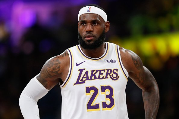 LeBron James at the Golden State Warriors at Staples Center on October 16, 2019 | Photo: Getty Images