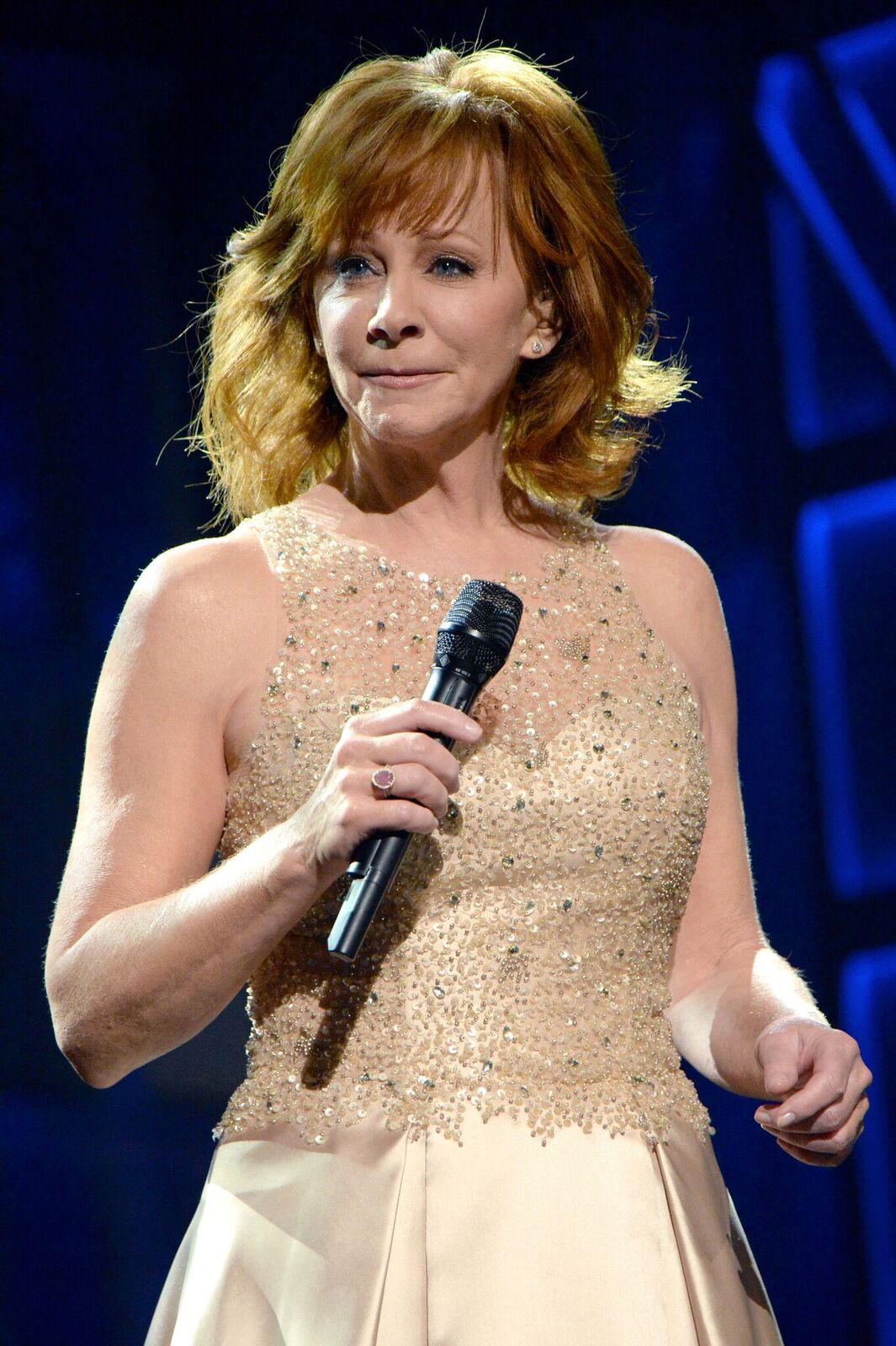 Recording artist Reba McEntire performs onstage during the 52nd Academy of Country Music Awards at T-Mobile Arena on April 2, 2017 in Las Vegas, Nevada | Photo: Getty Images