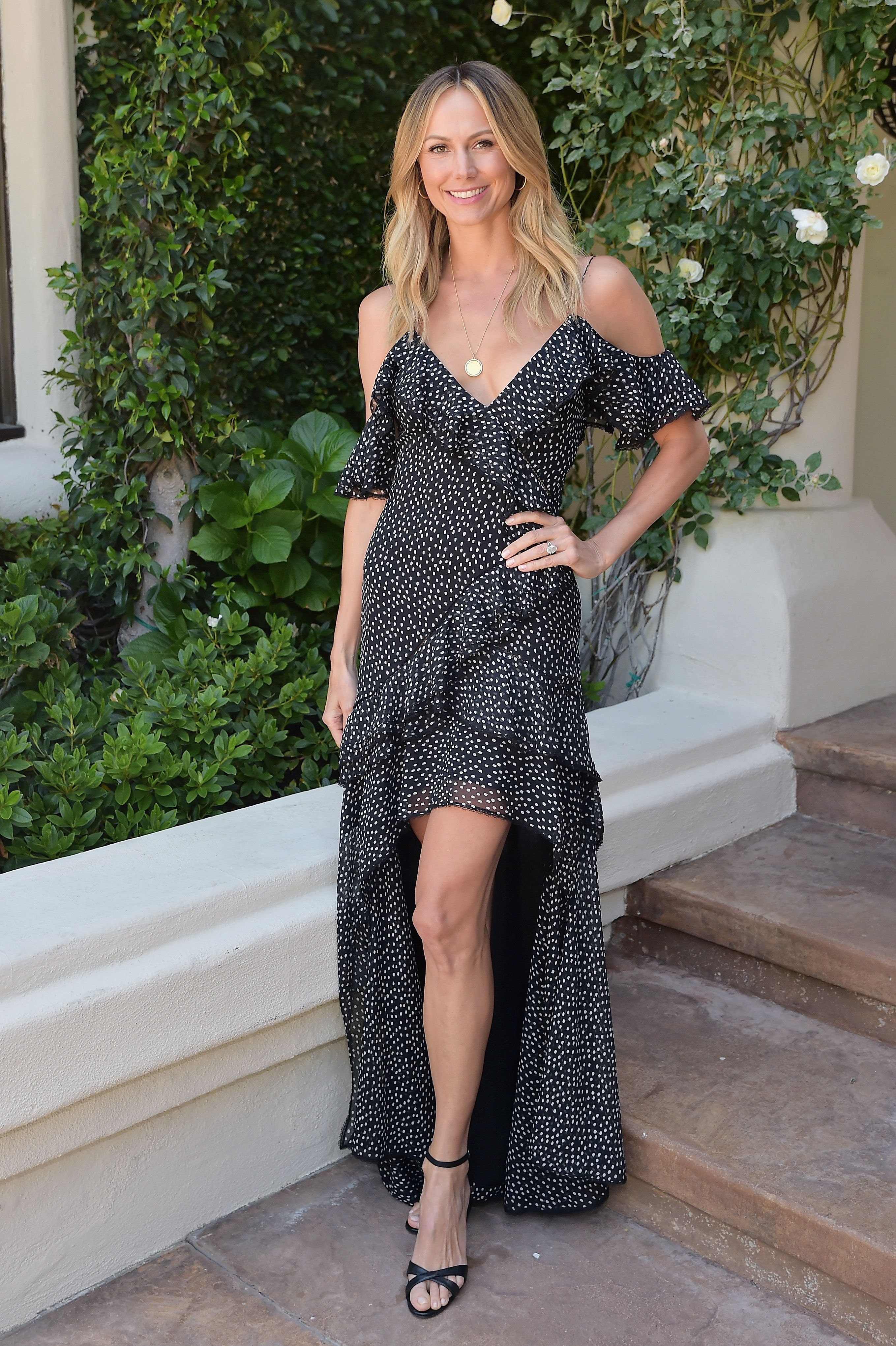 Stacy Keibler at Valentino's H.E.A.R.T. Annual Brunch in 2019 in Los Angeles | Source: Getty