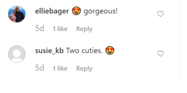 Fans' comment on Truey Grace's post. | Soure: Instagram/truelygracebrown