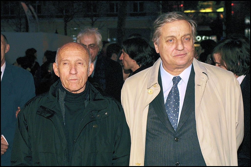 "Festival du Film de Paris : Projection en avant-première de ""Mon père"" de José Giovanni à Paris, France le 30 mars 2001- Jose Giovanni et Bruno Cremer. 