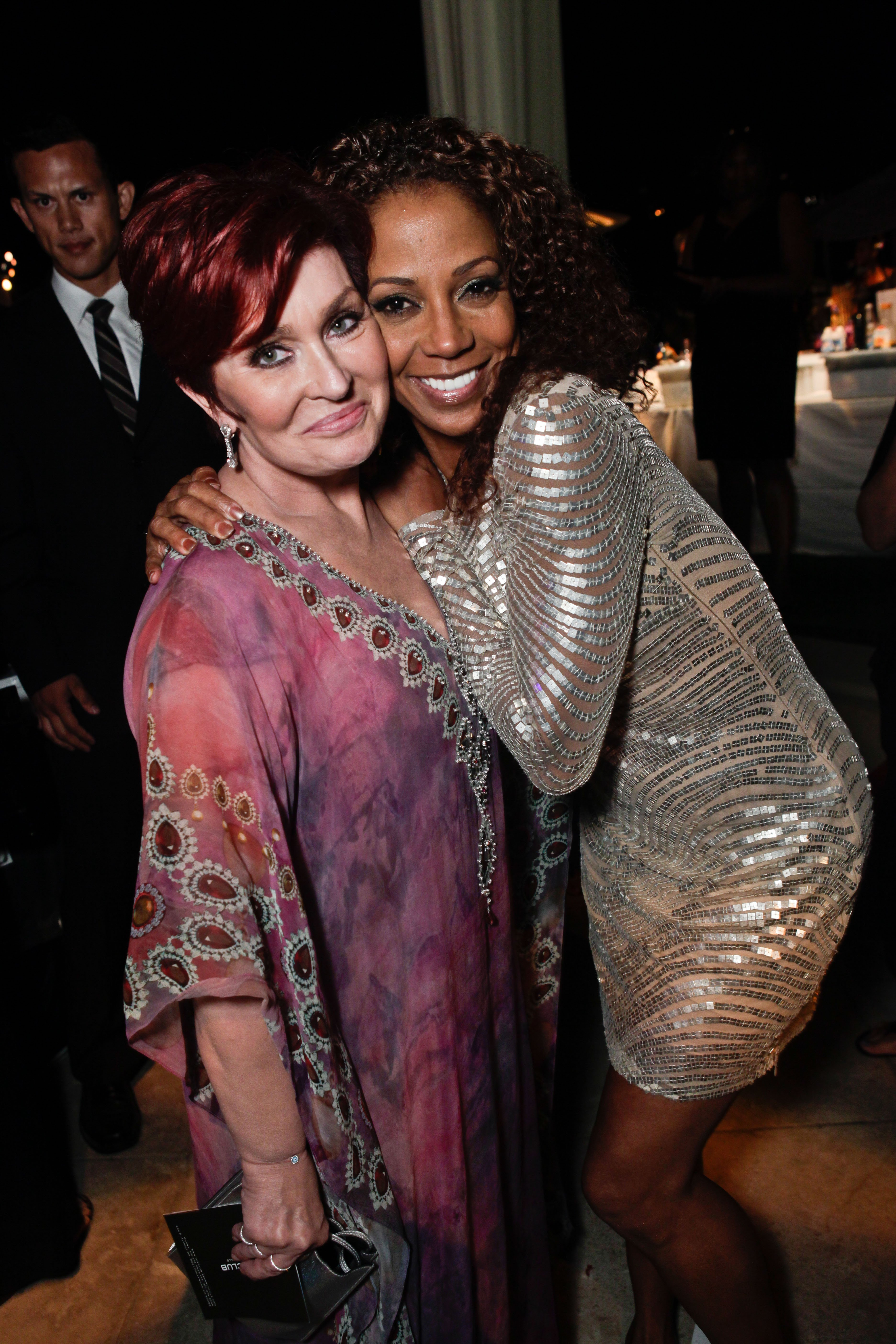 Sharon Osbourne and Holly Robinson Peete at the 13th Annual Design Care on July 23, 2011 in Beverly Hills, California. | Source: Getty Images