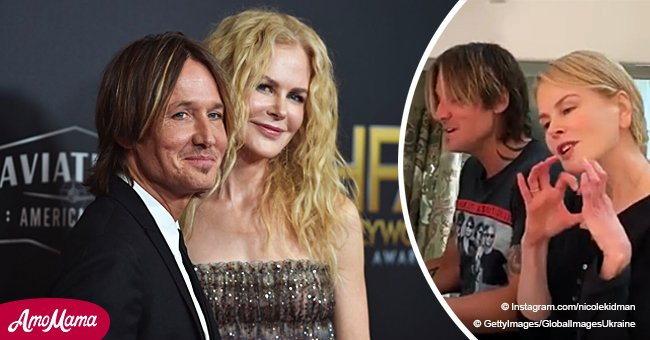Video of Keith Urban and Nicole Kidman's emotional duet is the definition of true love