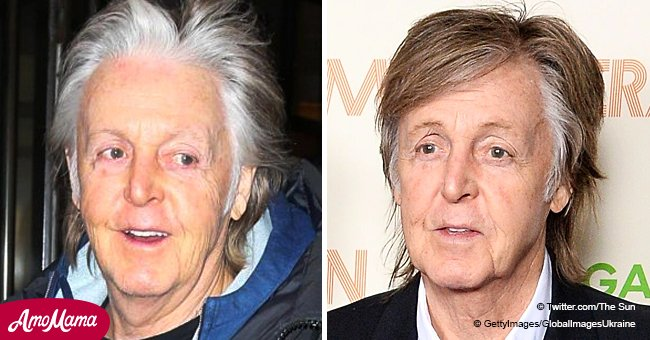 Paul Mccartney, 76, Embraces His Natural Look and Flaunts Silver Hairdo in NY, Despite the Cold