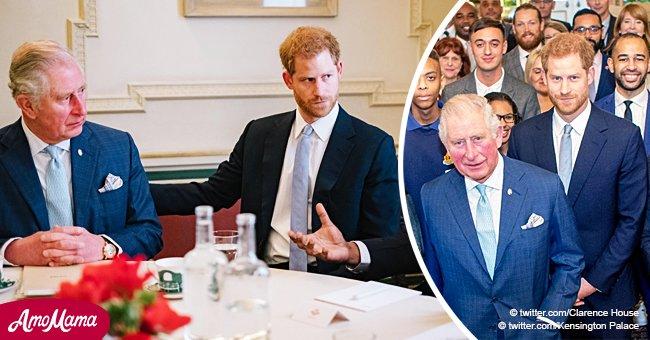"""Le prince Charles dit """"assez c'est assez"""" et rejoint son fils Harry pour prévenir la violence chez les jeunes"""