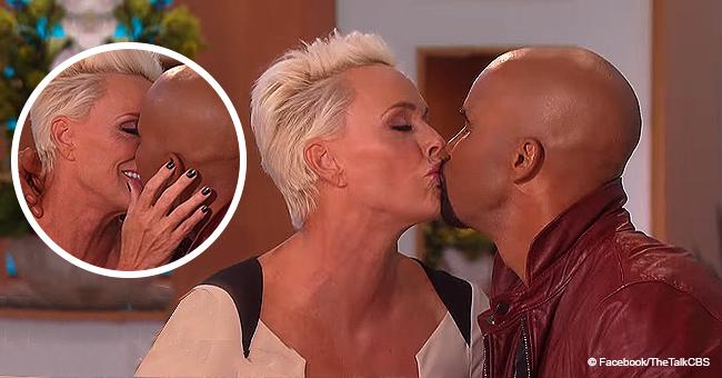 SWAT Star Shemar Moore Locks Lips with His Married Crush