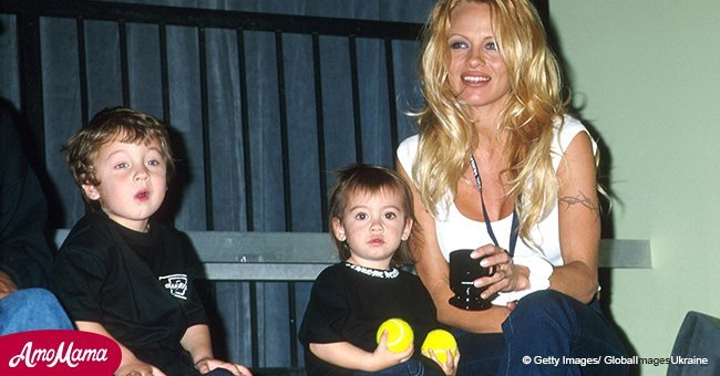 Pamela Anderson's son is all grown up and looks super handsome