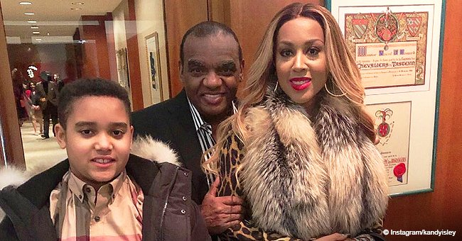 Ron Isley and His 35 Years Younger Wife Have Been Happily Married for 14 Years & Have Handsome Son