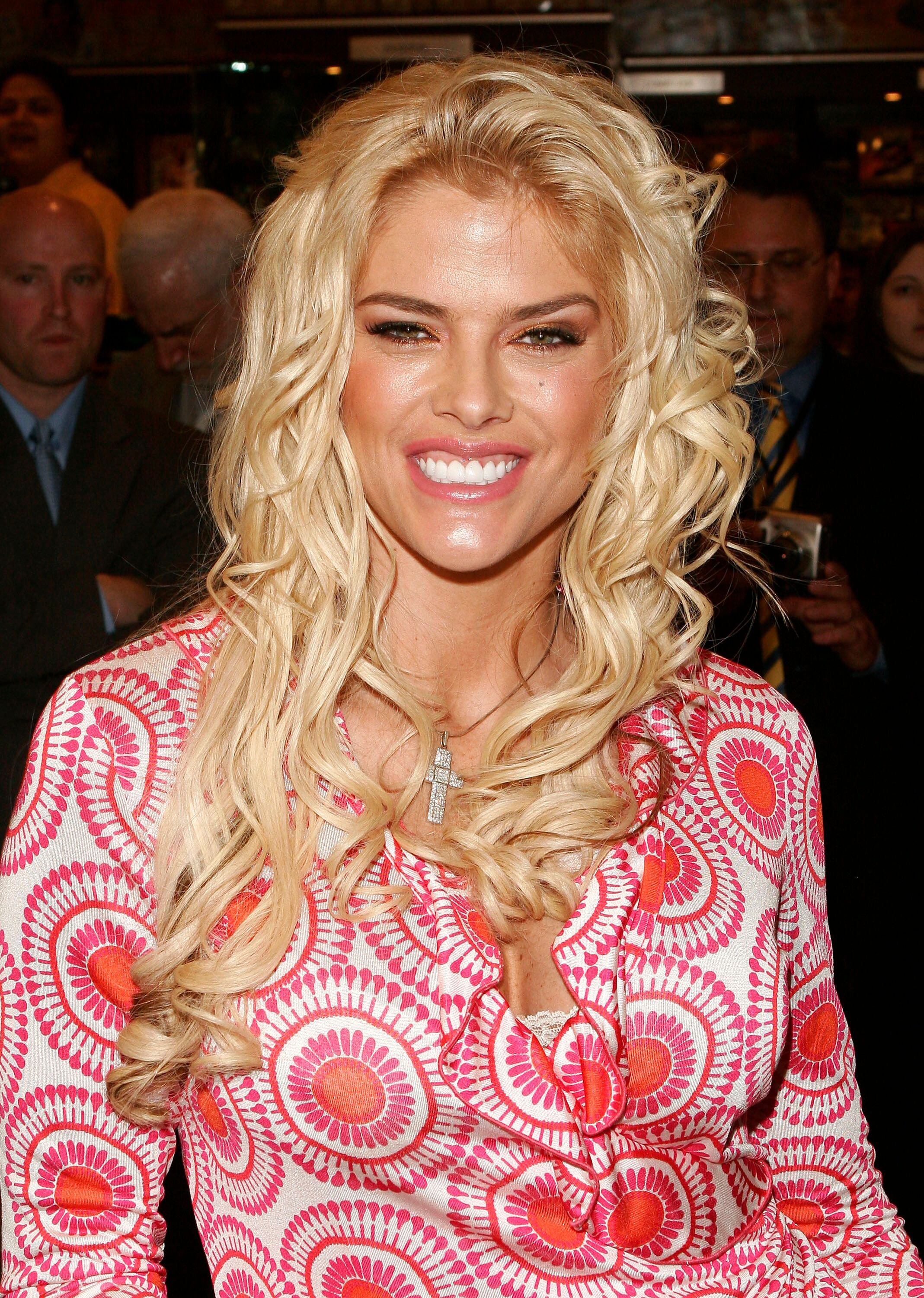Anna Nicole Smith le 7 avril 2005 à New York | Photo: Getty Images