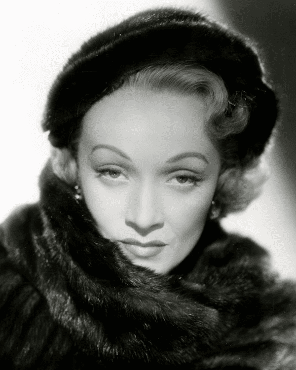 "Marlene Dietrich in 1951 movie ""No Highway"". 