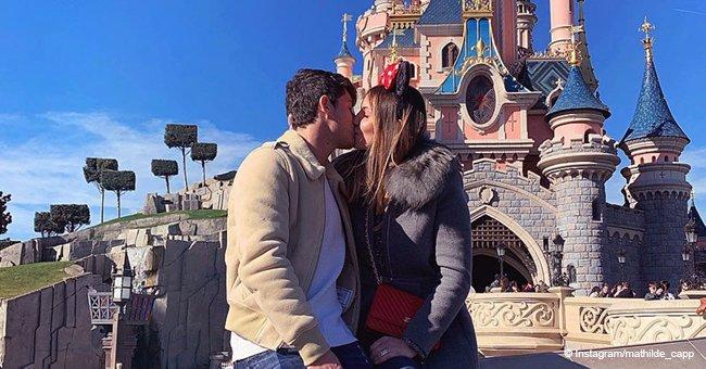 """Le fils de Didier Deschamps partage une photo intime où il embrasse """"la plus jolie des princesses"""""""