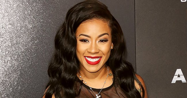 Keyshia Cole's Youngest Son Shows Fluffy Hair and Looks like Mom While Posing in a Cute Outfit