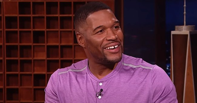 Michael Strahan's Twin Daughters Flaunt Waist-Long Hair While Spending Time Together in Fashionable Outfits