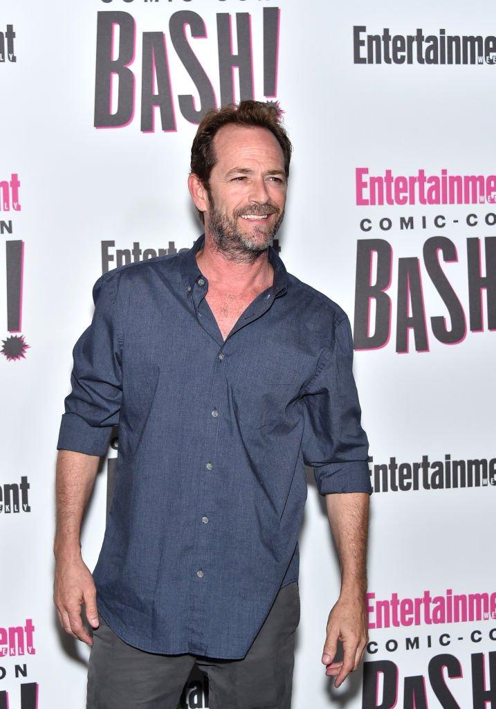 Luke Perry assiste au Comic-Con Bash de Entertainment Weekly qui se tient au FLOAT, au Hard Rock Hotel de San Diego. Source: Getty Images