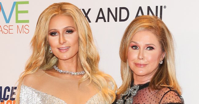 Paris and Kathy Hilton at the 24th annual Race To Erase MS Gala, May 2017   Source: Getty Images
