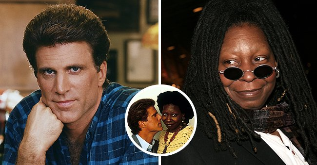 A picture of former lovers Ted Danson and Whoopi Goldberg | Photo: Getty Images