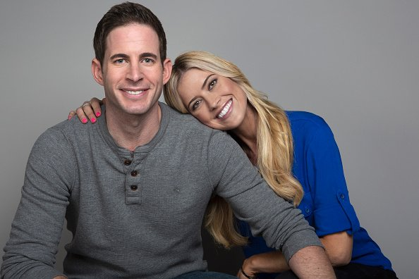 Tarek El Moussa and Christina Anstead in November 2017 in Los Angeles, California. | Photo: Getty Images