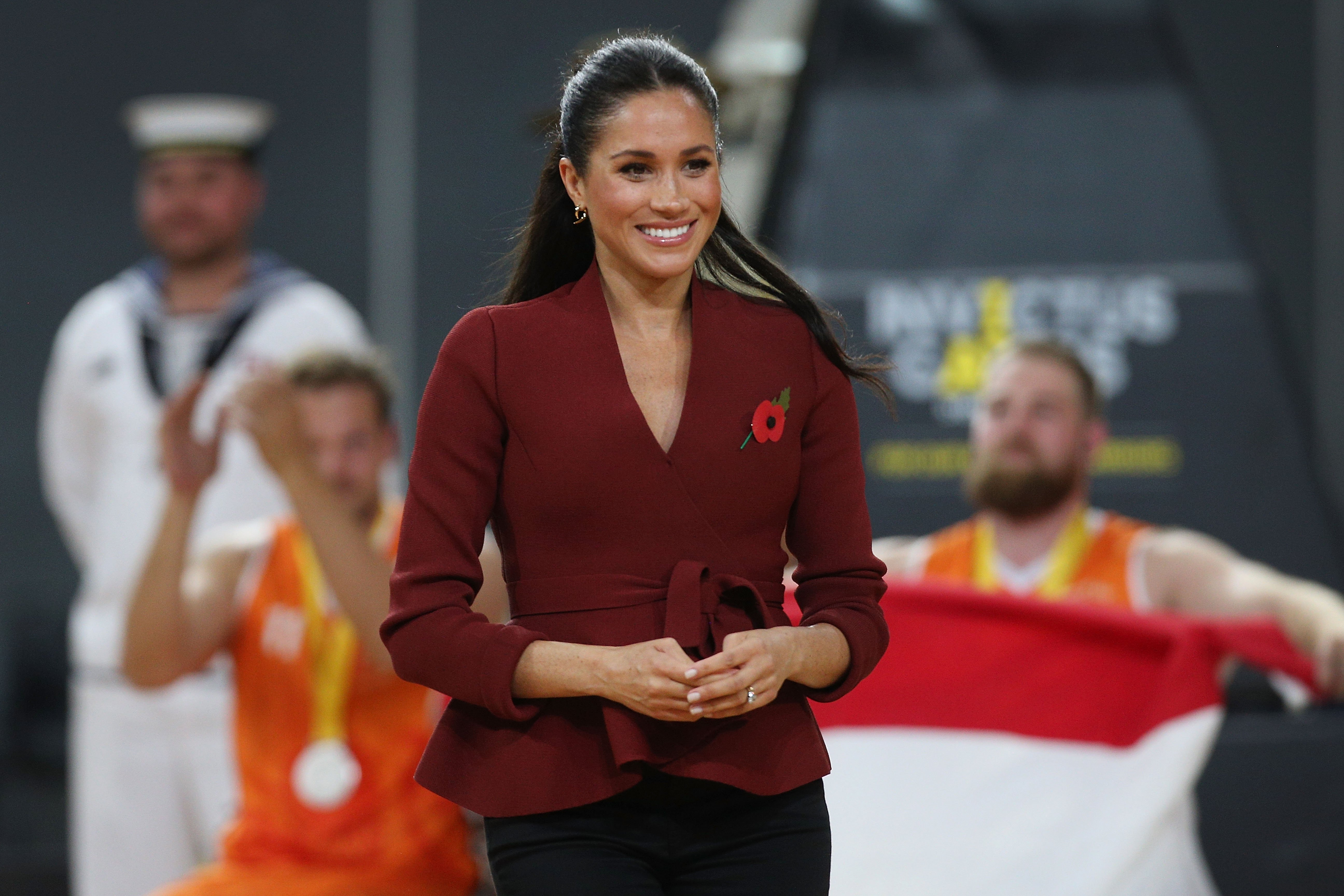 Meghan, Duchess of Sussex at the Invictus Games in Australia on October 27, 2018. Photo: Getty Images