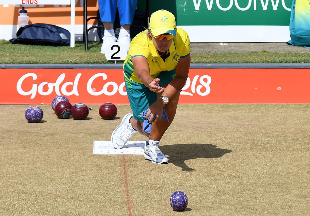 Day 6 of the Lawn Bowls Commonwealth Games in April 2019 in Gold Coast, Australia | Photo: Getty Images