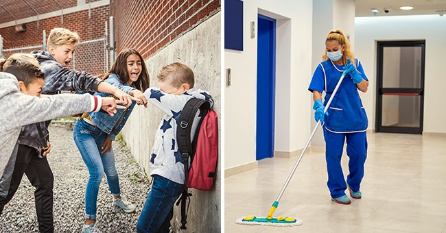 Story of the Day: Kids Taunted A Boy Whose Mom is a Janitor, But Now They're Ashamed