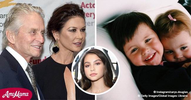 Catherine Zeta-Jones' daughter is all grown up and looks like her famous mother's twin