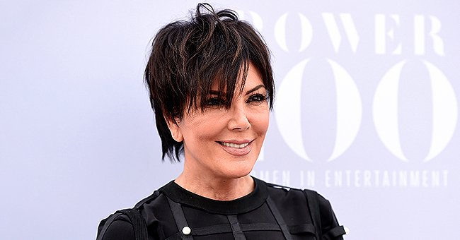 Kris Jenner from KUWTK Dazzles in Blue Sequin Dress for Night out with Boyfriend Corey Gamble Who's in a Stylish Suit