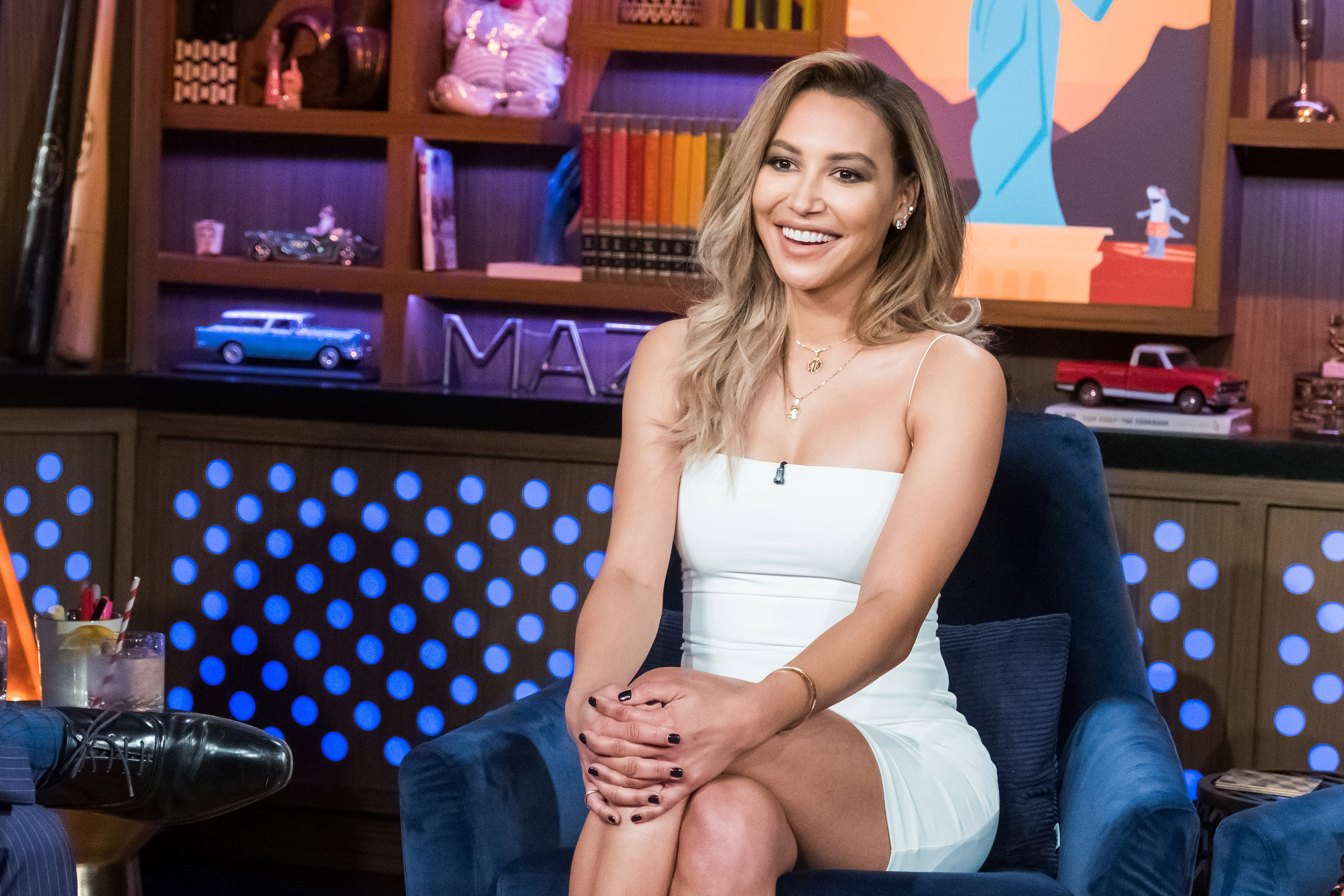 Naya Rivera during a TV guesting in 2019. | Photo: Getty Images