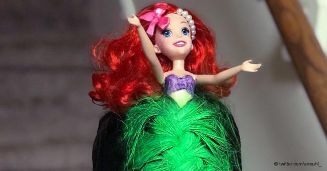 Kleines Mädchen wird mit märchenhafter Meerjungfrau-Frisur viral