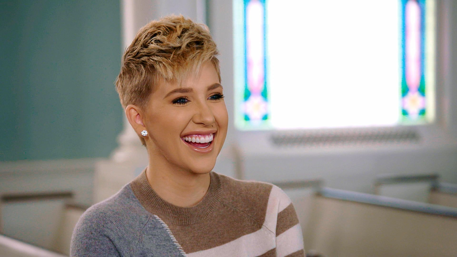 """A portrait of Savannah Chrisley on Season 8 of """"Chrisley Knows Best"""" on 24 July, 2020   Photo: Getty Images"""