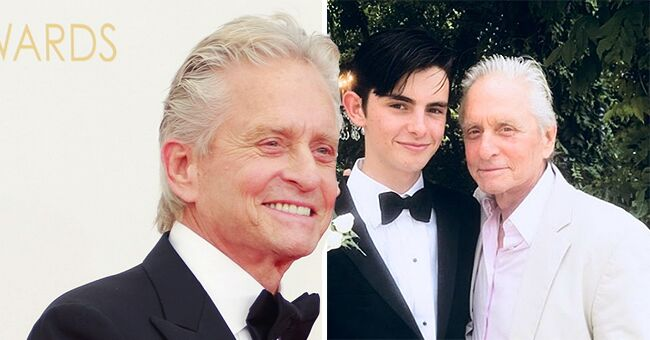 Michael Douglas Wishes His Youngest Son Dylan a Happy 19th Birthday (Photo)