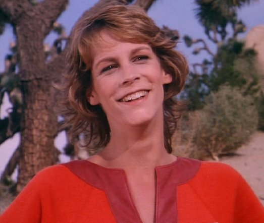 Jamie Lee Curtis on Buck Rogers. Image Source: Universal Pictures. YouTube/SciFi80sTV