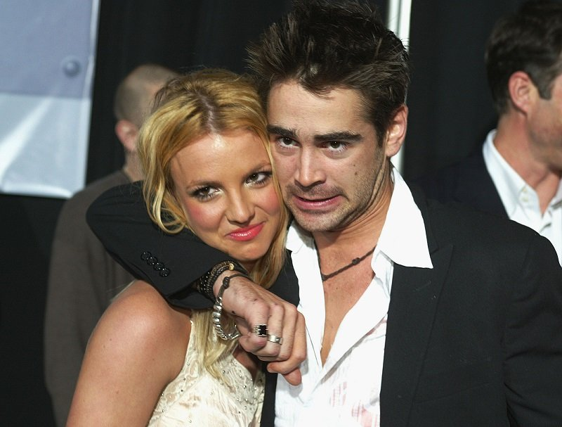 Singer Britney Spears and actor Colin Farrell on January 28, 2003 in Hollywood, California | Photo: Getty Images