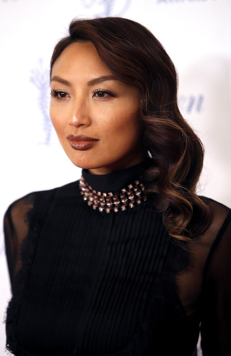 Jeannie Mai on August 18, 2017 in Beverly Hills, California | Photo: Getty Images