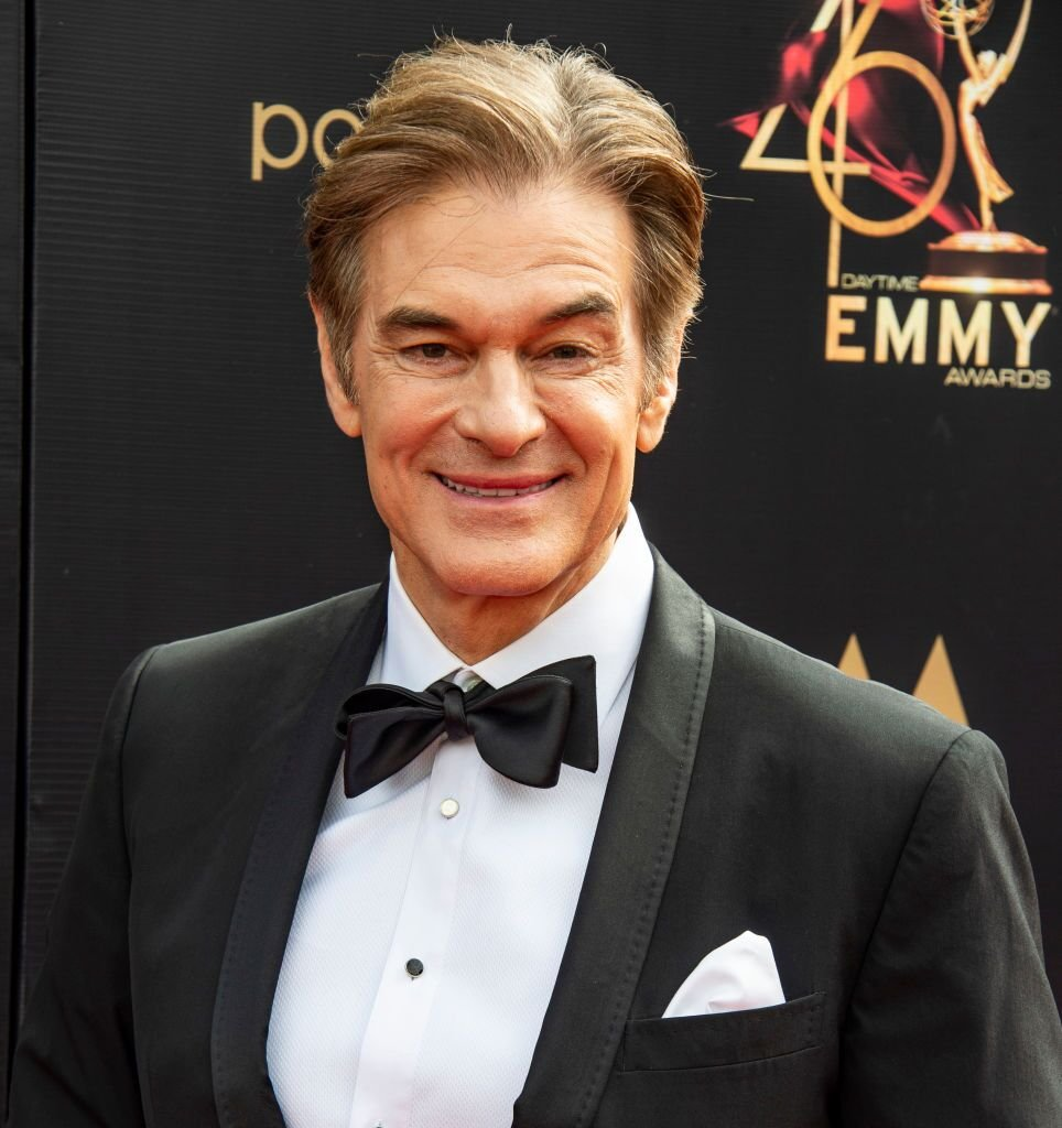 Dr. Oz attends the Entertainment Studios Daytime Emmies 2019 on May 05, 2019 in Pasadena, California. | Photo: Getty Images