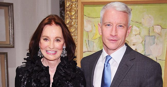 Anderson Cooper Talks about Assets and Private Journals of His Late Mother Gloria Vanderbilt