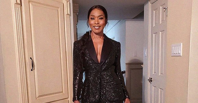 Angela Bassett Defies Her 62 Years Showing Cleavage in a Sequin Suit at Critics Choice Awards
