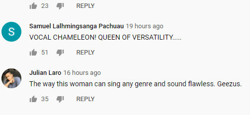Comments on The Kelly Clarkson Show Youtube Channel. Source | Photo: youtube.com/channel/thekellyclarksonshow