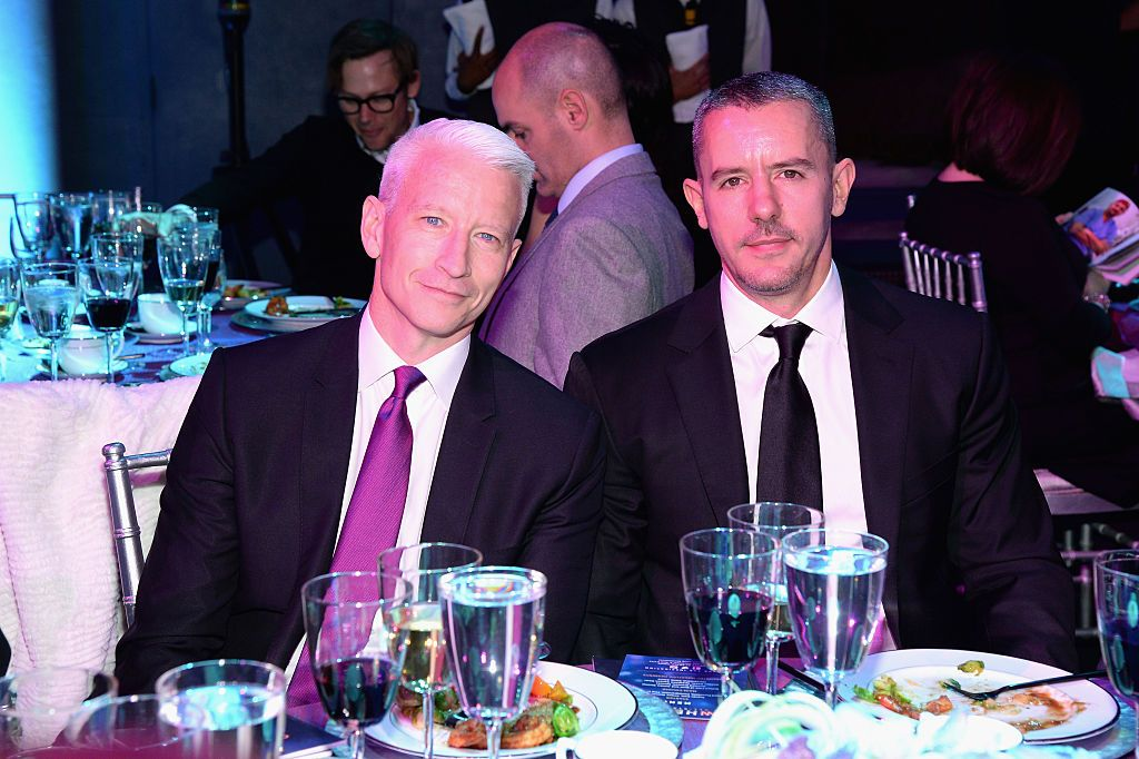 Anderson Cooper and Benjamin Maisani attend CNN Heroes 2015 - Show at American Museum of Natural History on November 17, 2015 in New York City | Photo: Getty Images