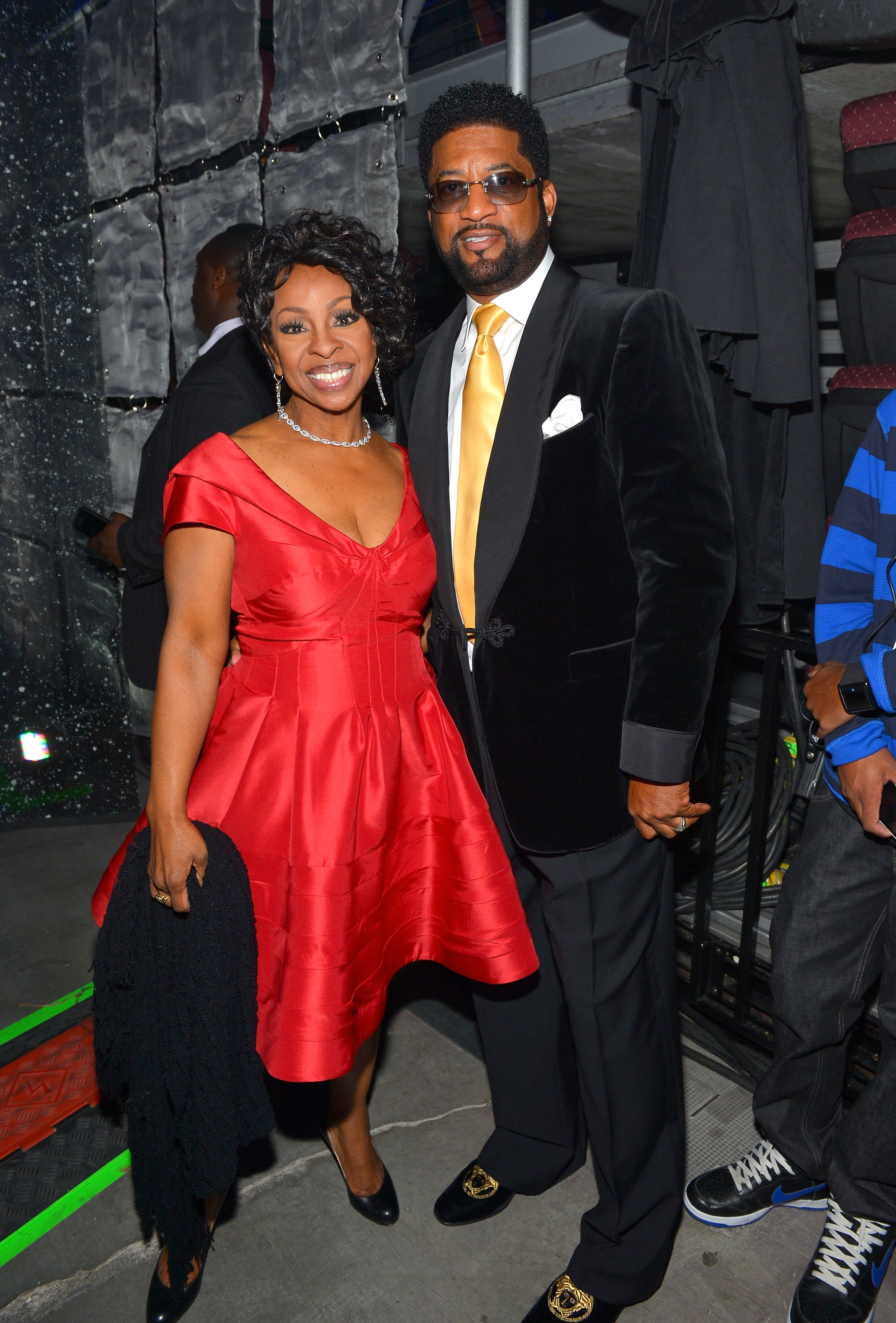 Gladys Knight and William McDowell at the Soul Train Awards in Las Vegas, Nevada in 2013 | Source: Getty Images