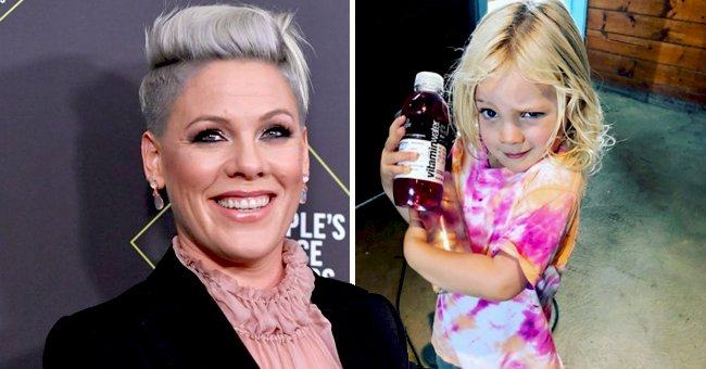 Pink Dotes over Resemblance with Her 3-Year-Old Son Jameson in This Sweet Photo