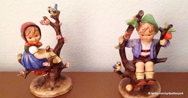 Das sind seltene Hummel-Figuren, die ein Vermögen wert sein könnten