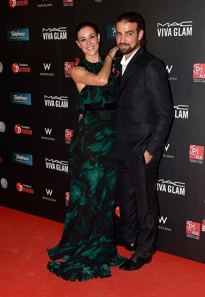 Raquel Sánchez Silva y Mario Biondo.| Fuente: Getty Images/Global Images Ukraine