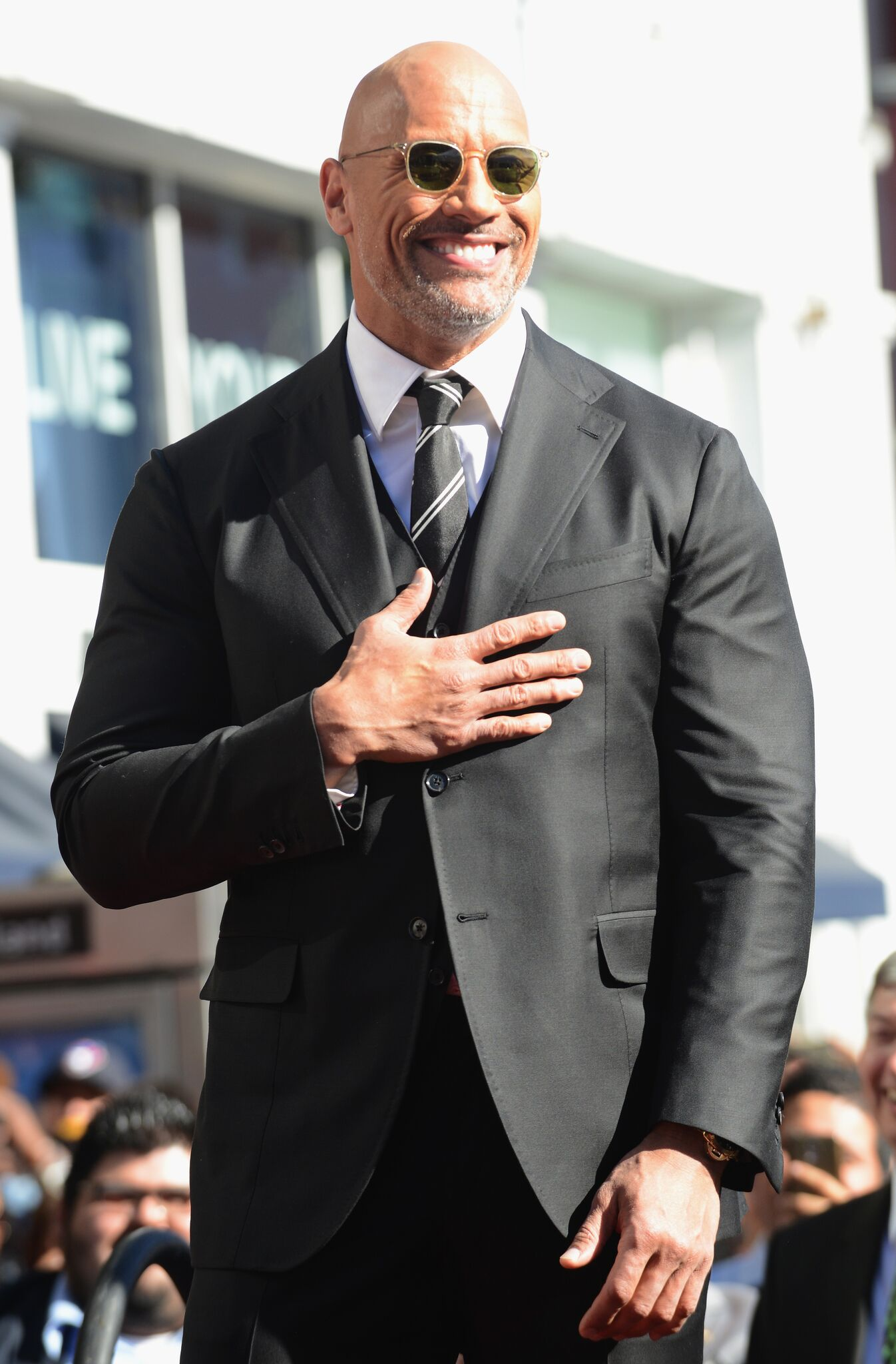Dwayne Johnson Honored With Star On The Hollywood Walk Of Fame | Getty Images