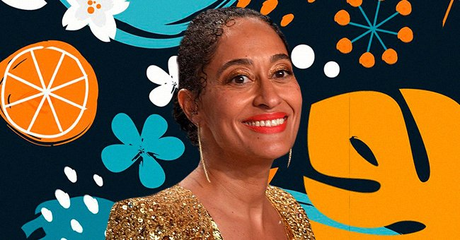 Tracee Ellis Ross Exposes Toned Back While Striking Pose in Floral Two-Piece for Pic