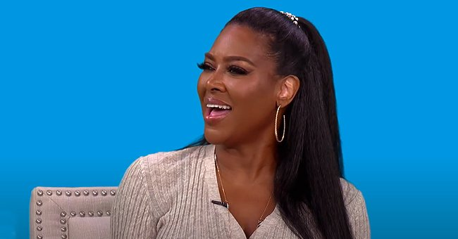 Kenya Moore's Baby Daughter Brooklyn Counts to 5 with Mom and Fans Call Her Smart