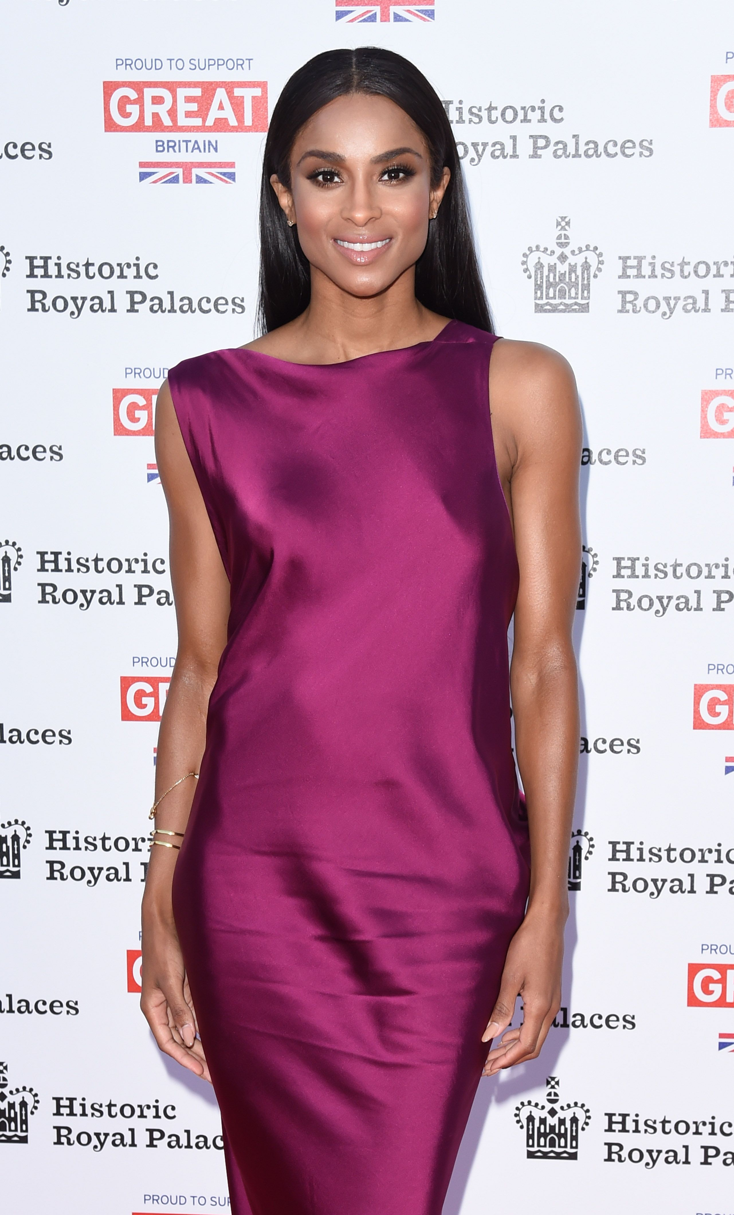 Ciara at the Kensington Palace on July 9, 2015 in London.   Photo: Getty Images