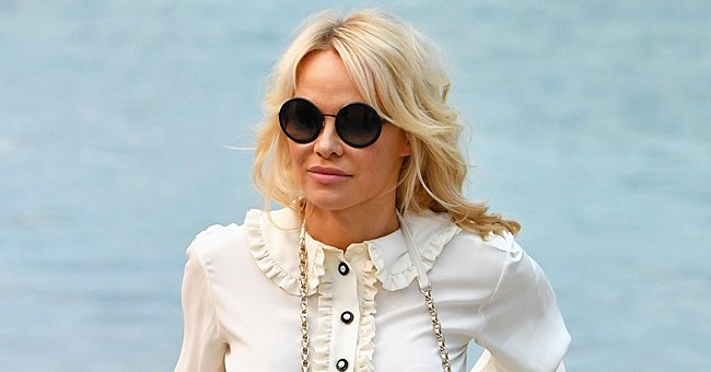 Pamela Anderson, 53, Flaunts Gorgeous Body Wearing a Tiny Bikini in Stunning Monochromatic Pic